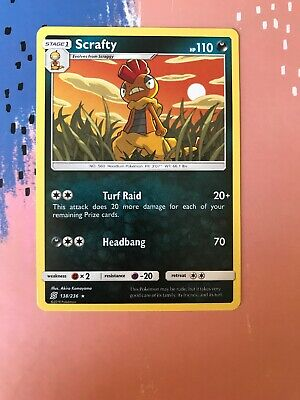 138/236 Scrafty / Pokemon Trading Card Game / TCG / SM-11 / Unified Minds
