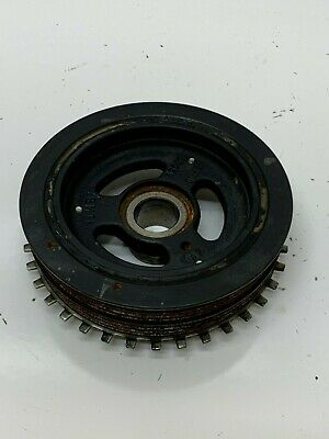 2013-2015 Ford Fusion Se 2.5l Engine Harmonic Balancer Crank Shaft Pulley Used