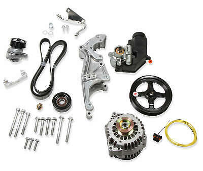 Holley Aluminum Ls Accessory Drive Kits Side Low Drive System Low Mount