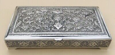 Lovely Islamic Solid Silver Cigarette Box C1900 431.6 / 15.22oz