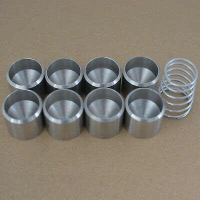"""8pcs Freeze Plug 1.340"""" 304 Ss D Cell Cup Pioneer For Gm478081c1 L10"""""""