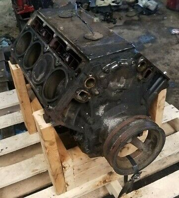 2004 Escalade 6.0l Lq9 Short Block Engine Motor Ls Lsx Oem Factory Bottom End Gm