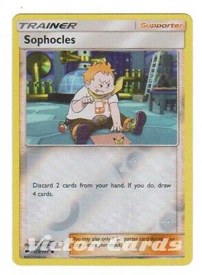 Pokemon Sophocles - 123/147 - Reverse Holo - Burning Shadows - NM