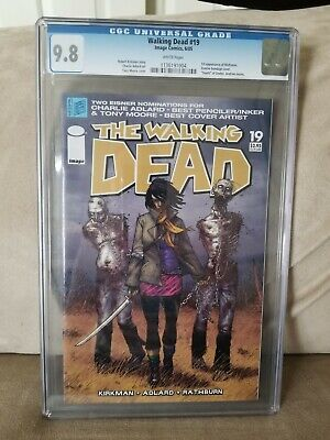 Walking Dead #19 1st Michonne! 1st Print! Cgc 9.8!! Classic Cover And Book!