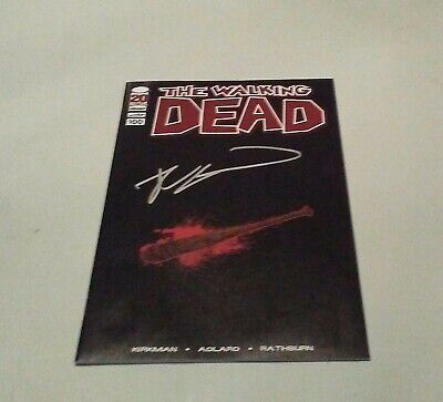Walking Dead # 100 Bloody Lucille Kirkman Signed Variant  Nm+