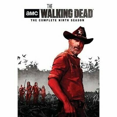 The Walking Dead Complete Ninth 9th Season New Sealed Region 1 Us Free Shipping