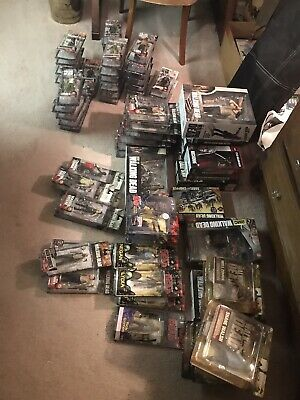 Walking Dead/mcfarlane Largest Complete Set Of Action Figures-rare Set!