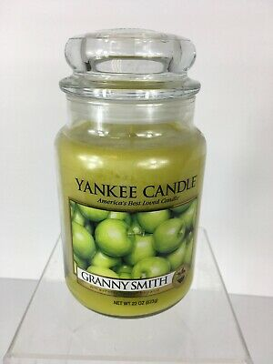 Yankee Candle Granny Smith 22 Oz Candle Large Jar Brand New Hard To Find Jar*
