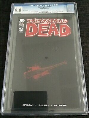 Walking Dead 100 Cgc 9.8 White Red Foil Edition, 1 Negan, Death Glenn