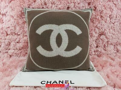 Chanel Wool & Cashmere Throw Pillow
