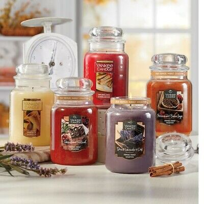 Yankee Candle ~ You Choose Scent ~ 22oz Large Jar *free Expedited Shipping*