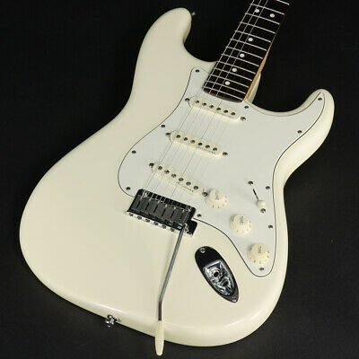 Fender Usa Jeff Beck Stratocaster Olympic White 2014 Used W/genuine Hard Case