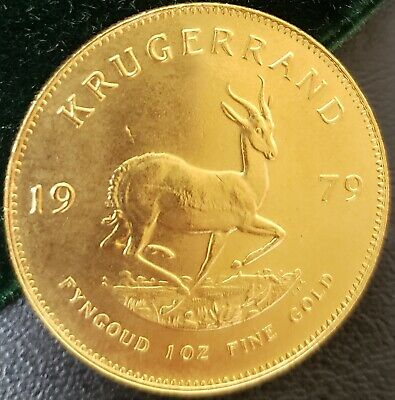 1979 South Africa 1 Oz Ounce Gold Krugerrand Free N Fast Priority Shipping