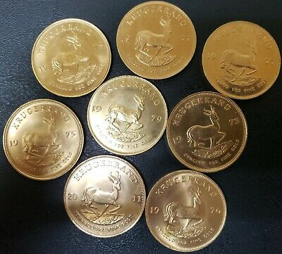 South Africa 1 Oz Ounce Gold Krugerrand Several Years Free Fast Priority Shippng