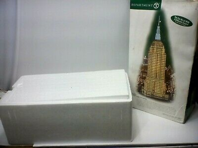 """Dept. 56""""christmas In The City"""" - Empire State Building . New"""