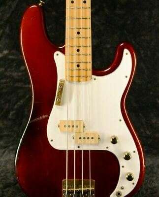 Fender Precision Bass Special Candy Apple Red 1980 Used W/original Hard Case