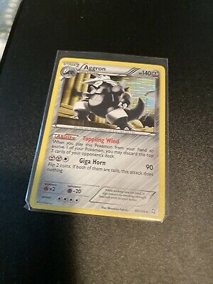 Pokemon Card Holo Aggron 80/124 & EVOLUTIONS PLAYSET Dragons Exalted - NM/ MINT
