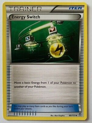 Energy Switch 89/111 Uncommon Furious Fists 2014 Pokemon Nm/m