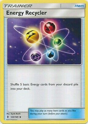 Pokemon Card SM Guardians Rising - 123/145 Energy Recycler - Uncommon