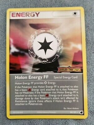 Pokemon Card Holon Energy FF 84/101 EX Dragon Frontiers STAMPED REVERSE Holo NM