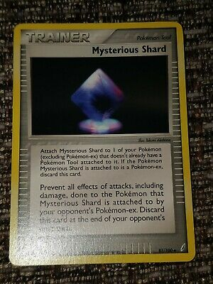 Pokemon Uncommon Trainer Card : Mysterious Shard  81/100 (Ex Crystal Guardians)