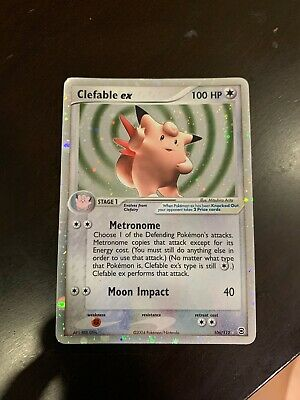 Pokemon CHANSEY EX HOLO RARE 106/112 EX RUBY AND SAPPHIRE LP