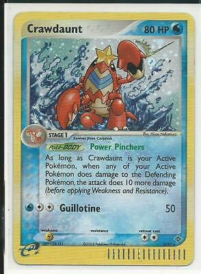 2003 Crawdaunt 3/97 EX Dragon HOLO RARE Pokemon