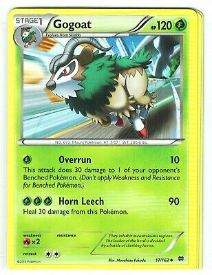 Pokemon XY Breakthrough, Gogoat 17/162, Uncommon NM,