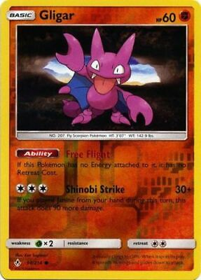 1x - Gligar - 98/214 - Common - Reverse Holo NM, English Pokemon Unbroken Bonds