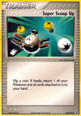 1x - Super Scoop Up - 99/112 - Uncommon LP Pokemon EX FireRed & LeafGreen