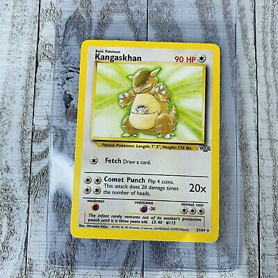 1x Kangaskhan 21/64 Jungle NON-HOLO Rare Pokemon Card Played