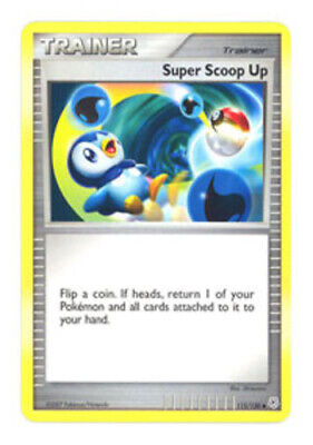 1x - Super Scoop Up - 115/130 - Uncommon NM, English Pokemon Diamond and Pearl