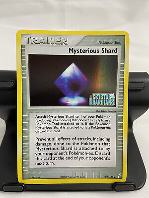 Mysterious Shard 81/100 Holo Stamped EX Crystal Guardians Pokemon Card TCG