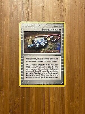 Strength Charm 81/101 Dragon Frontiers STAMPED Reverse Holo Near Mint Pokemon