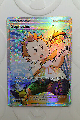 Sophocles 146/147 Full Art Ultra Rare | Pokemon TCG - Burning Shadows