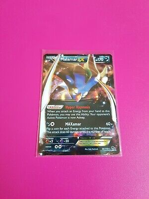 Pokemon Malamar EX XY Phantoms Forces 58/119 Near Mint