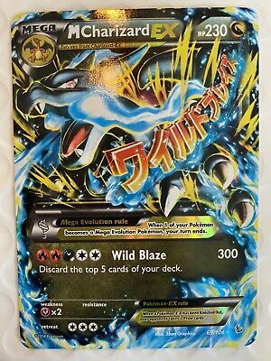 Pokemon Card M Charizard EX Flashfire 69 / 106 *NEAR MINT* !
