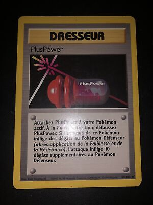 Pluspower Unco - Pokemon 84/102 Set De Base Ed 2 Proche Du Neuf Fr