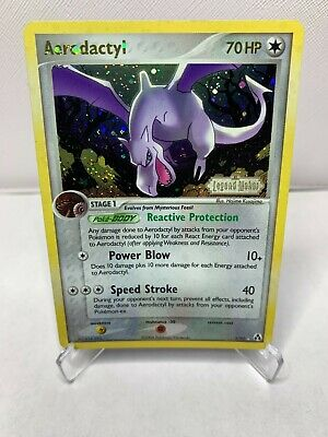2006 Pokemon Card EX Legend Maker Aerodactyl - Reverse Holo Foil #1