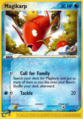 1x - Magikarp - 60/97 - Common NM, English Pokemon EX Dragon