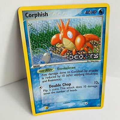 CORPHISH  57/107 EX Deoxys Reverse Holo Pokemon Card  STAMPED