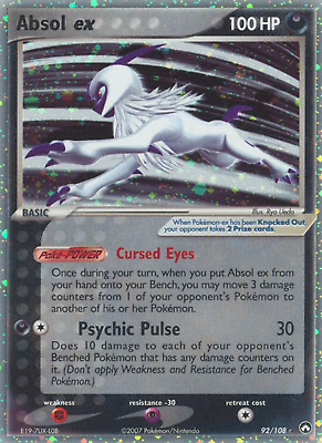 Absol ex (92/108) [EX: Power Keepers] Ultra Rare Pokemon TCG