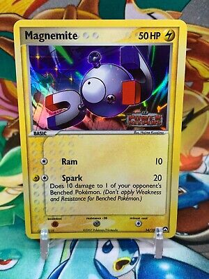 Magnemite 54/108 Reverse Holo Stamped EX Power Keepers Pokemon Card R1 - NM