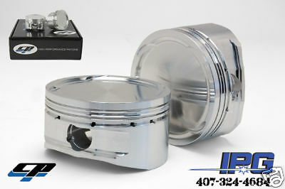 Cp Pistons Ls/vtec B18a B18b Block With B16 B18c Gsr Head 81mm 9.8:1 Sc7015