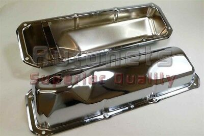1969-82 Small Block Ford Chrome Steel Valve Cover 351c-351m-400m-boss Cleveland