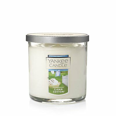 Yankee Candle Clean Cotton Small Tumbler 7oz Candle , New, Free Shipping