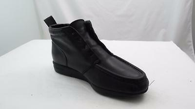 Red Wings Dunoon Mens 8 Eee Extra Wide Black Leather Ankle Boots Moc Toe Guc Mgk