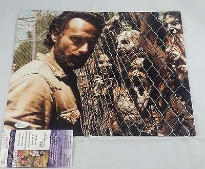 "Andrew Lincoln ""rick Grimes"" Signed 11x14 Photo The Walking Dead Amc J Id: 6157"