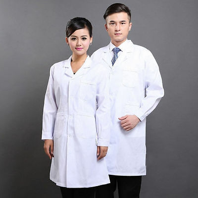 Lab coat Plus S-3XL Medical Doctor