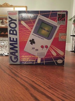 Original Nintendo Game Boy System. Sealed. New!